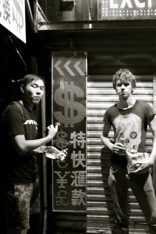 Hong Kong by night AliasOlivia Travel Inspiration Street Style