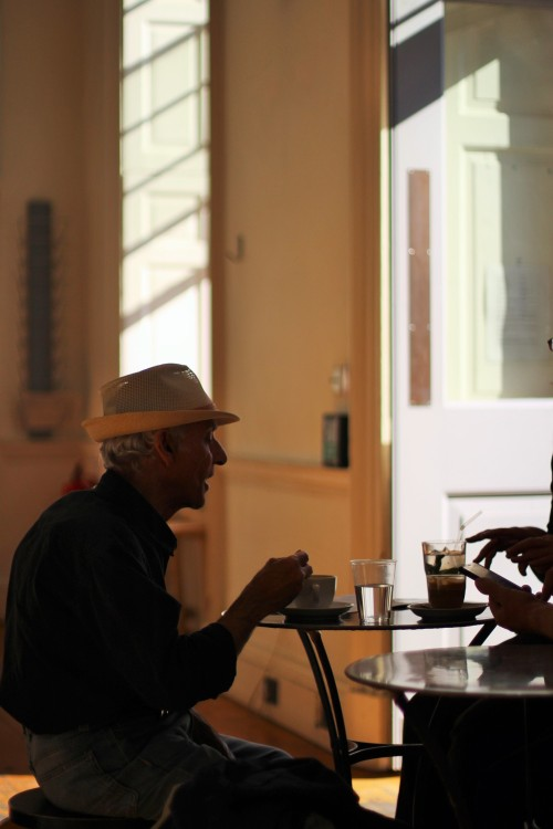 Somerset House London Inspiration hat AliasOlivia Street style Travel Fernandez wells coffee cafe