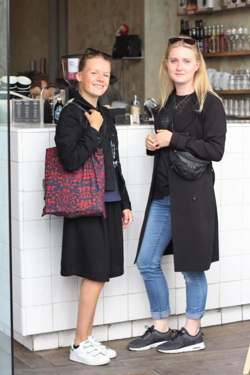 Street style paris Coutume Cafe Babylone Bon Marche