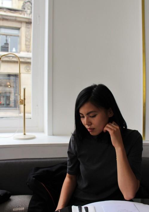 Martha Chan Aliasolivia Rose bakery Paris Street style inspiration